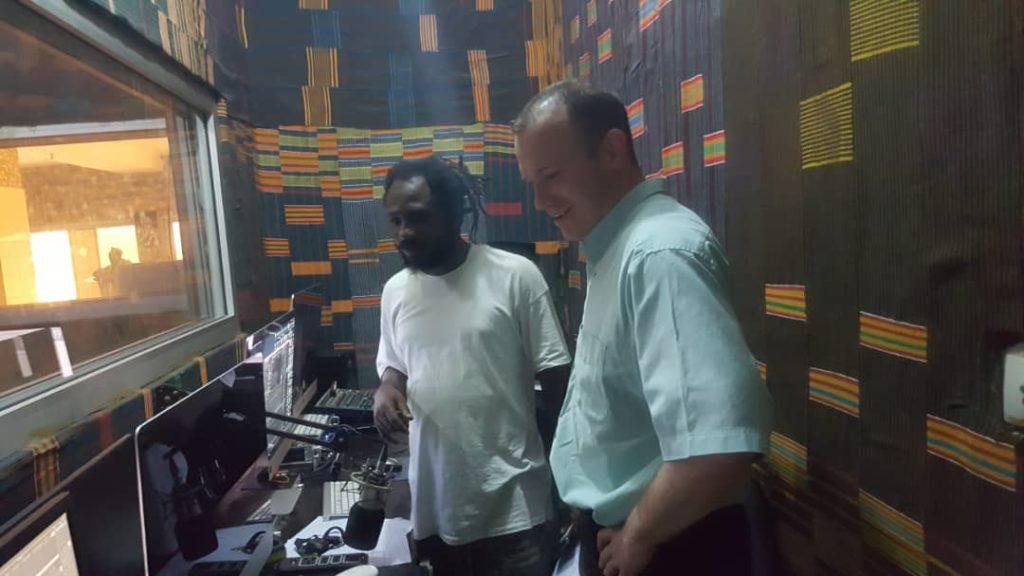 Yann Vonarburg at Blondy FM